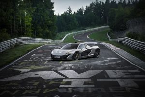 McLaren P1 takes on the Nurburgring (Video)