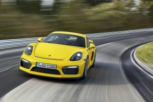 Porsche Cayman GT4 – the real driver's car: (Video)