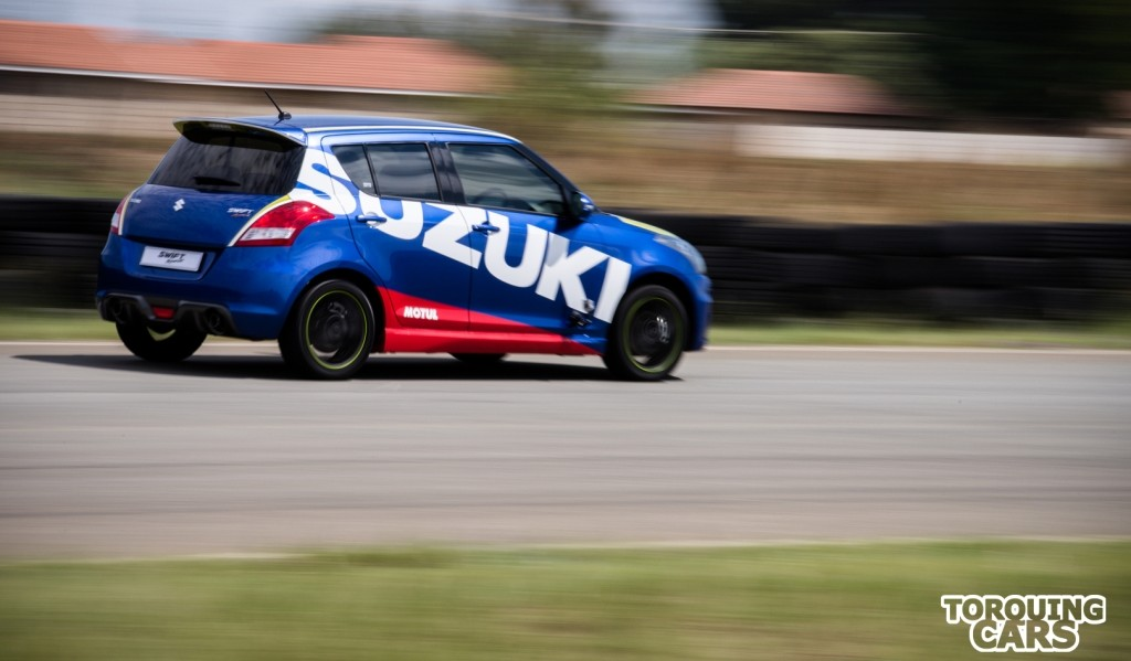 Suzuki swift Sport, Track review, video review, ZC32S, Torquing Cars