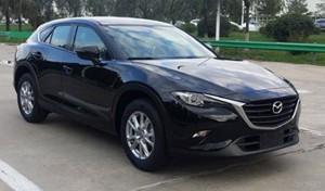 Mazda CX-4 Spied Undisguised: