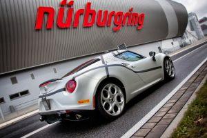 Alfa Romeo 4C Sets Nurburgring Record: