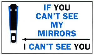 Following Distances – If You Can't See My Mirrors, I Can't See You