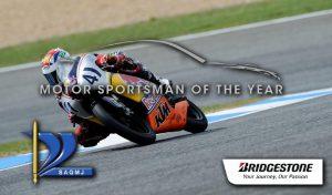 Brad Binder wins Motor Sportsman of the year