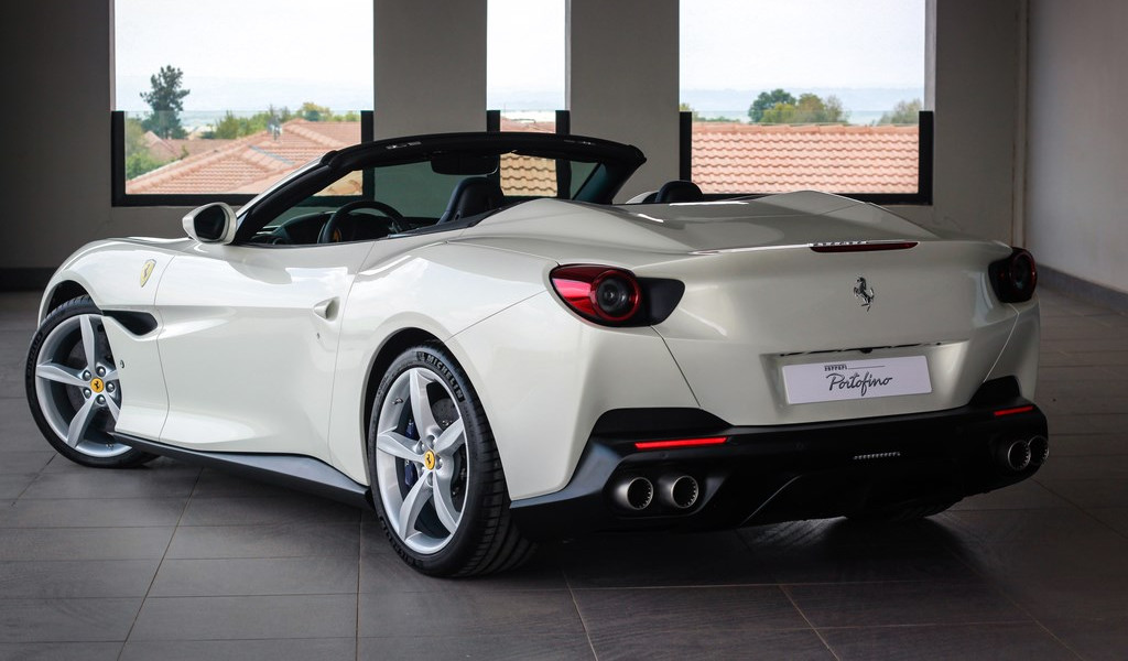 Ferrari, Portofino, South Africa