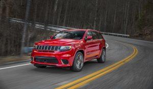 Jeep Grand Cherokee Trackhawk inbound