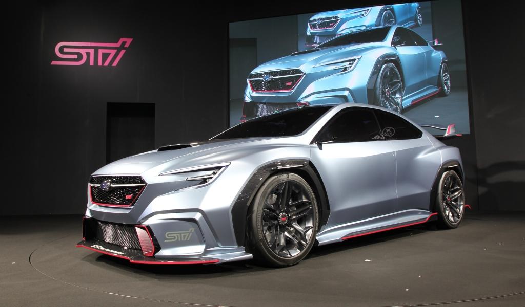 Subaru, VIZIV Performance STI Concept, VIZIV, STI, Subaru Tecnica International, Torquing Cars