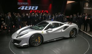 Hard-core Ferrari 488 Pista Bows in Geneva