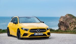 Mercedes-AMG A35 4MATIC Unveiled To Take On Golf R