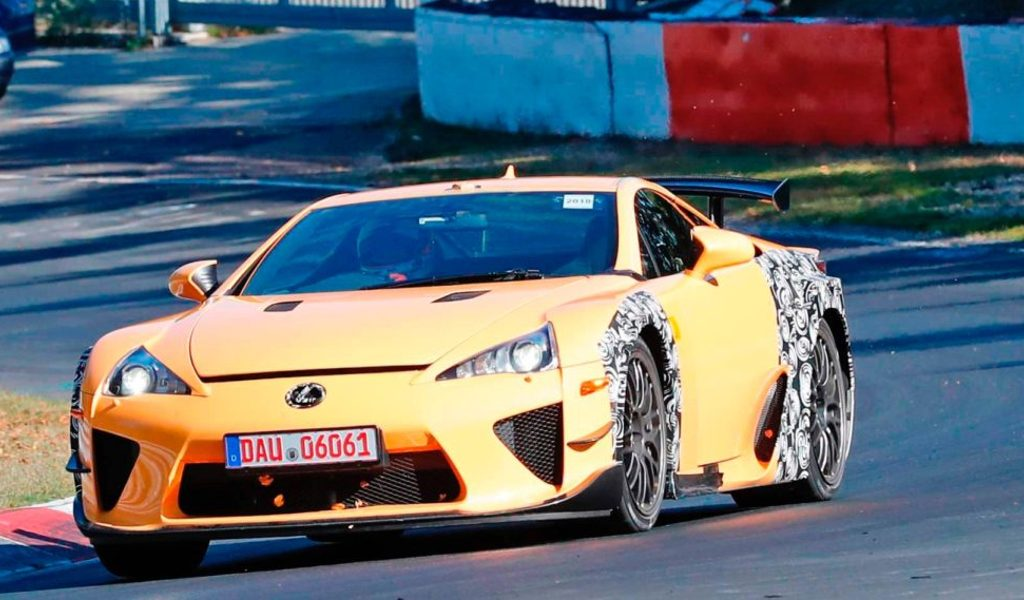 Why The Hell Is Lexus Testing LFAs At The Nurburgring?