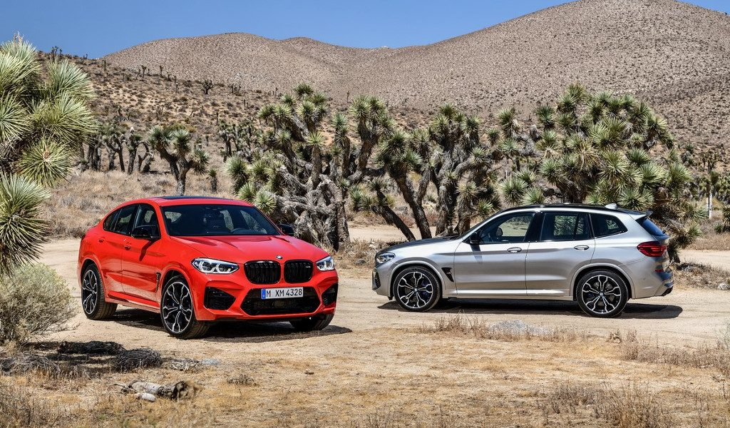 BMW Unveils X3 M, X4 M, and Competition Models