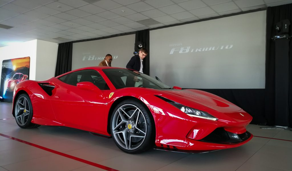Ferrari F8 Tributo Touches Down in SA