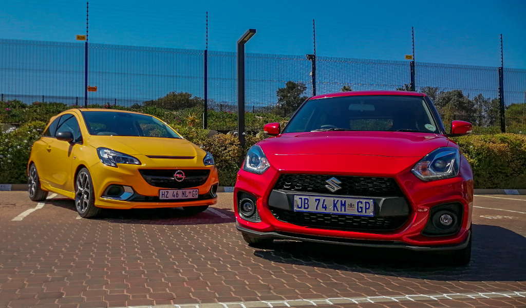 Shootout: Suzuki Swift Sport vs Opel Corsa GSi